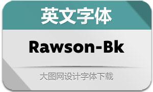 Rawson-Black(英文字体)