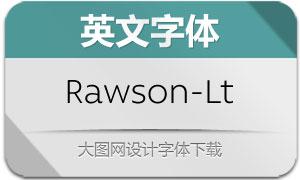 Rawson-Light(英文字体)