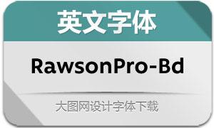 RawsonPro-Bold(英文字体)