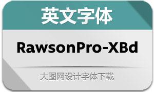 RawsonPro-ExtraBold(英文字体)