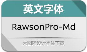 RawsonPro-Medium(英文字体)