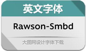 Rawson-SemiBold(英文字体)