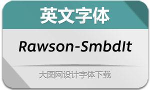 Rawson-SemiBoldIt(英文字体)