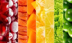 紧密排列拼贴效果水果主题高清图片