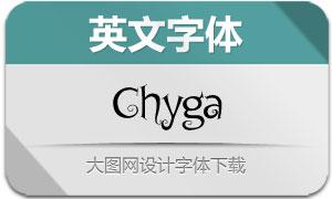 Chyga(英文字体)