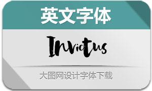 Invictus系列5款英文字体