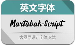 Martabak-Script(英文字体)
