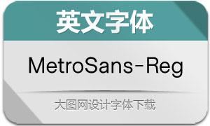 MetroSans-Regular(英文字体)