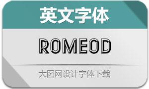 RomeoD(英文字体)