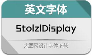 StolzlDisplay(英文字体)