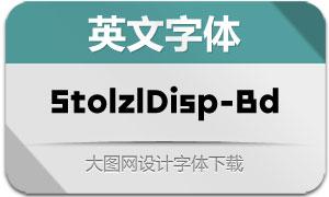 StolzlDisplay-Bold(英文字体)
