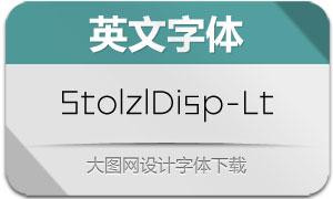 StolzlDisplay-Light(英文字体)