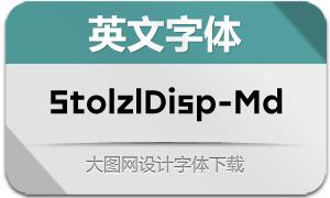 StolzlDisplay-Medium(英文字体)