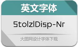 StolzlDisplay-Normal(英文字体)