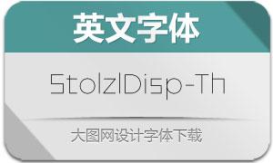 StolzlDisplay-Thin(英文字体)