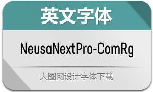 NeusaNextPro-ComRg(英文字体)