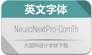 NeusaNextPro-ComTh(英文字体)