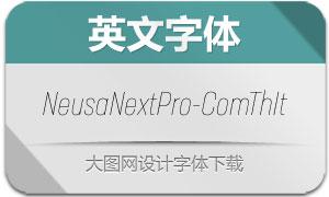 NeusaNextPro-ComThIt(英文字体)