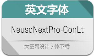NeusaNextPro-ConLt(英文字体)
