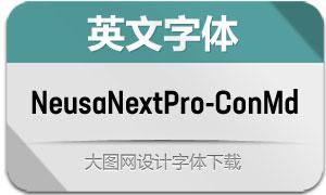 NeusaNextPro-ConMd(英文字体)