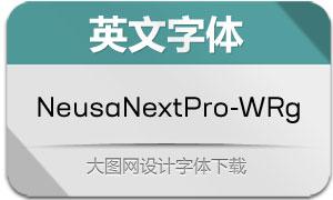 NeusaNextPro-WideRegular(字体)