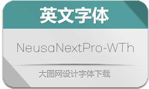 NeusaNextPro-WideThin(英文字体)