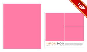 时尚简洁风格版式写真模板M
