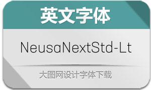 NeusaNextStd-Light(英文字体)