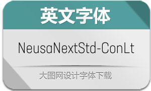 NeusaNextStd-ConLt(英文字体)