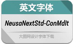 NeusaNextStd-ConMdIt(英文字体)
