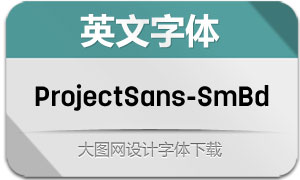 ProjectSans-SemiBold(字体)
