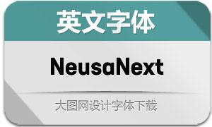 NeusaNext系列80款英文字体