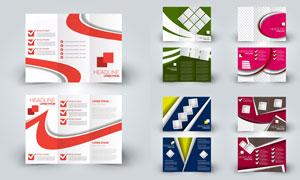 多种用途广告折页设计模板矢量素材