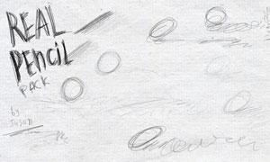 铅笔绘画线条PS笔刷