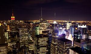 美国纽约繁华景象风光摄影高清图片