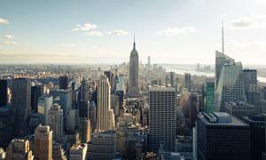 纽约的帝国大厦等建筑风光高清图片
