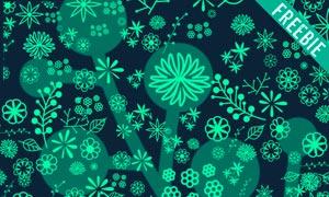 18款高清晰花朵和树叶PS笔刷