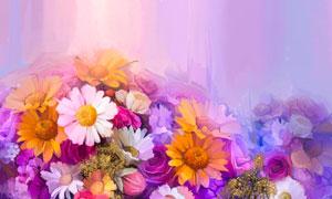 惟妙惟肖的花卉植物水彩画高清美高梅