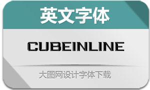 CubeInline(英文字体)
