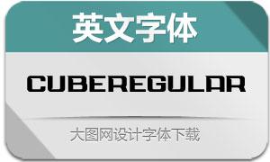 CubeRegular(英文字体)