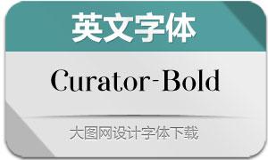 Curator-Bold(英文字体)