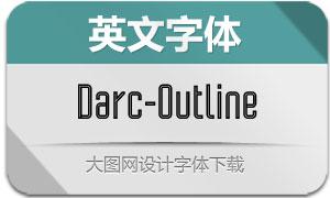 Darc-Outline(英文字体)