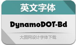 DynamoDOT-Bold(英文字体)