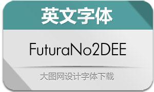 FuturaNo2DEE(英文字体)