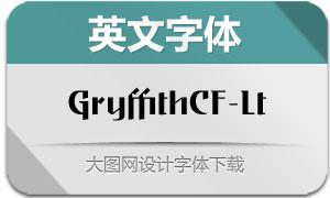 GryffithCF-Light(英文字体)