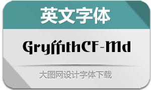 GryffithCF-Medium(英文字体)