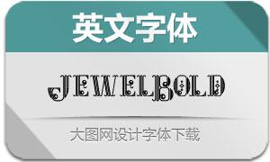 JewelBold(英文字体)