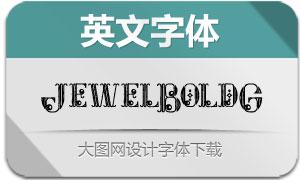 JewelBoldGrunge(英文字体)