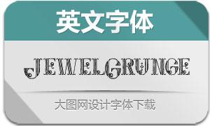 JewelGrunge(英文字体)