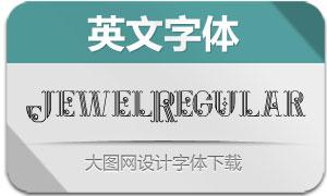JewelRegular(英文字体)